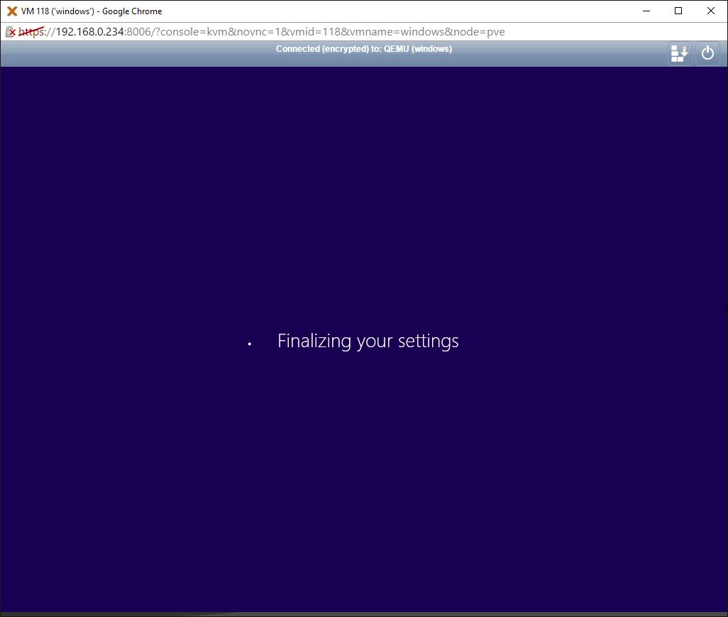 Deploying a Windows VPS on Proxmox VE – qlr